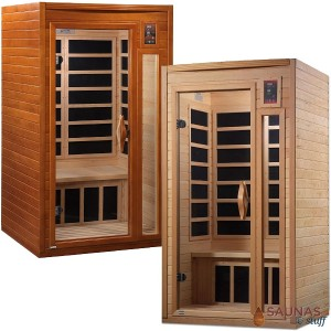 1 Person Carbon Fiber Infrared Sauna