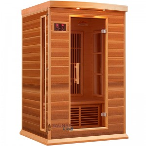 2 Person Red Cedar Infrared Sauna