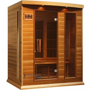Red Cedar Infrared Sauna, 3 Person