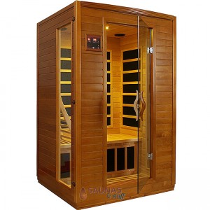 2 Person (A) Carbon Fiber Infrared Sauna