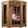 2-3 Person Corner Carbon Fiber Infrared Sauna