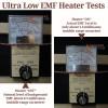 Ultra-Low EMF Infrared Heater Testing
