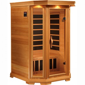 2 Person Soltice Carbon Fiber Infrared Sauna