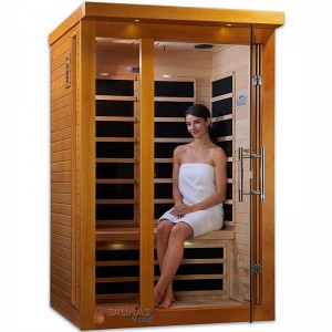 2 Person (D) Carbon Fiber Infrared Sauna