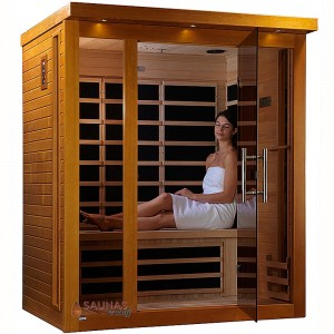3 Person (B) Carbon Fiber Infrared Sauna