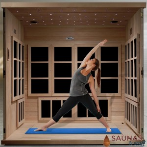 Hot Yoga Carbon Fiber Infrared Sauna