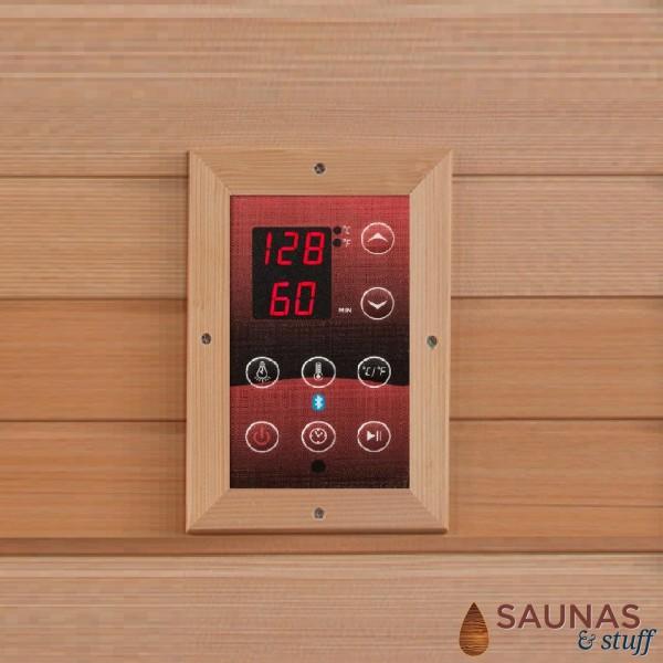 1 Person (E2) Ultra-Low-EMF Carbon Fiber Infrared Sauna