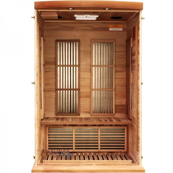 2 Person Red Cedar Infrared Sauna