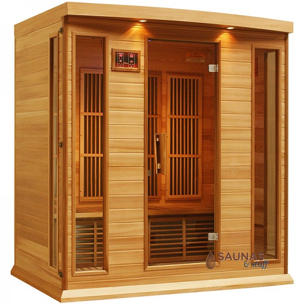 4 Person Red Cedar Infrared Sauna
