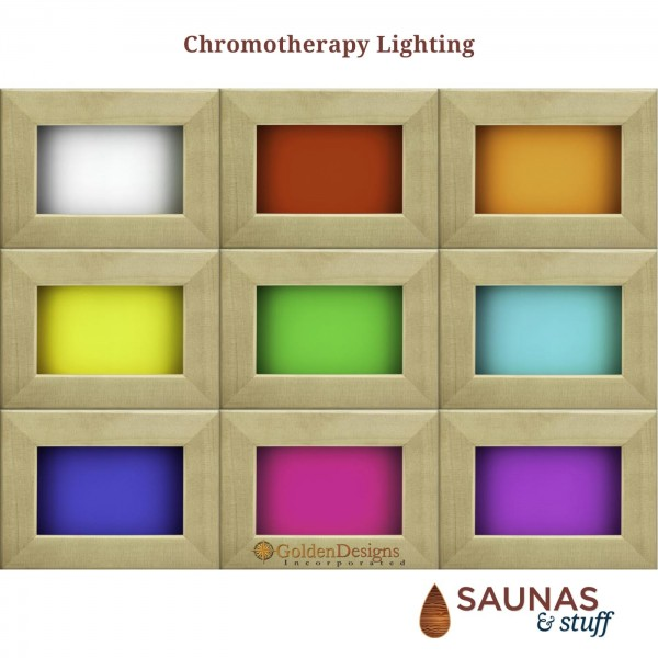 Chromotherapy Lighting Included