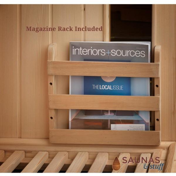 Magazine Rack Included