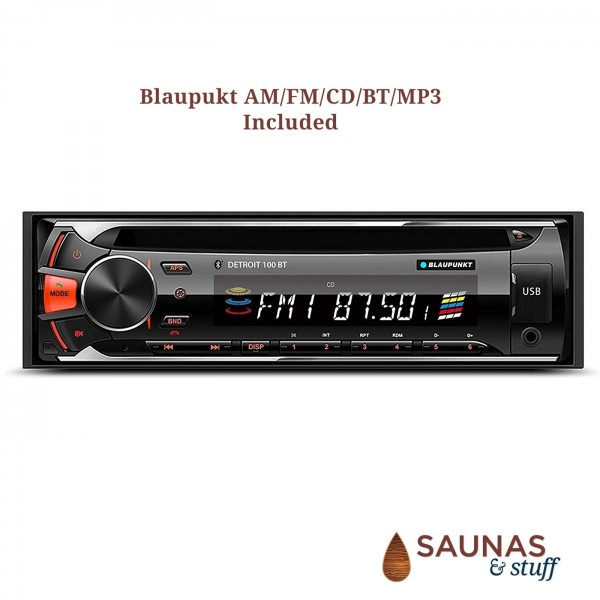 AM/FM/CD/BT/MP3 with Speakers, Included
