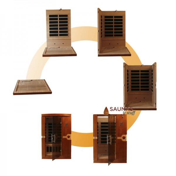 Infrared Sauna Assembly