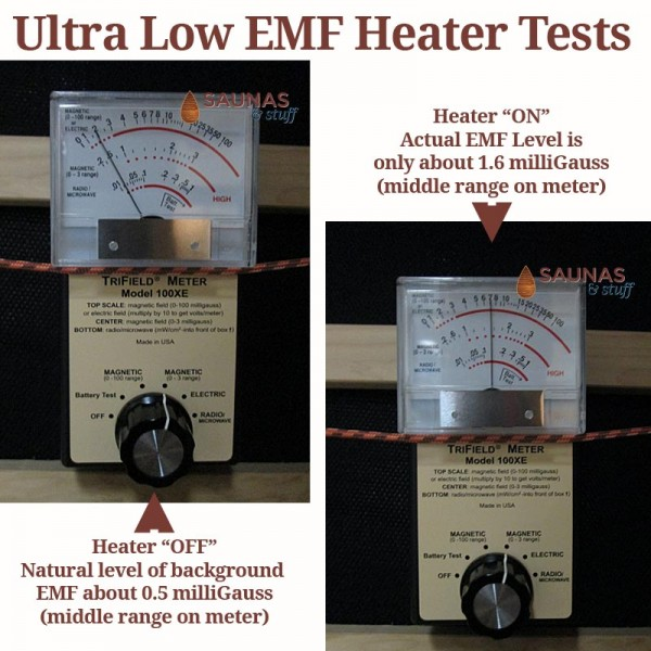 Ultra-Low EMF Infrared Heater Testing