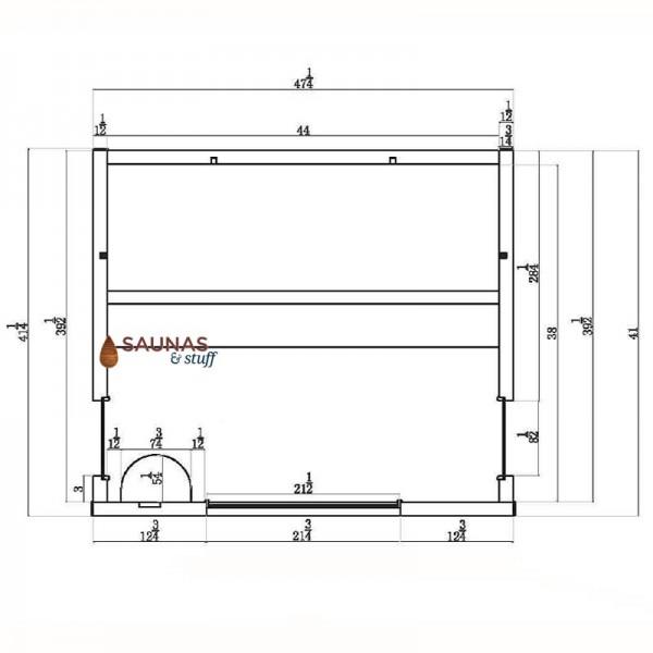 Sauna Dimensions