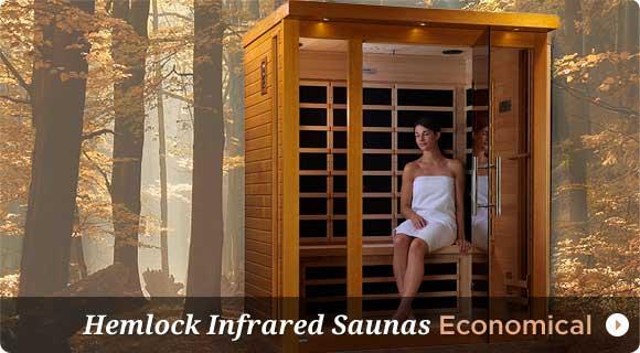 Hemlock Wood Infrared Sauans
